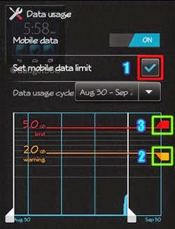Cara Menghilangkan Peringatan Penggunaan Data Di Handphone